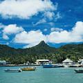 Avarua Harbor by Bob Abraham - Printscapes