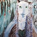 Avatar Portrait Of Alien Woman by Stanley Morganstein