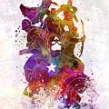 Avengers 02 In Watercolor by Pablo Romero