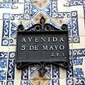Avenida 5 De Mayo by Victor Carvalho