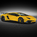 Aventador Lp 750-4 Sv New Giallo Orion by Bill Brock