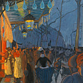 Avenue De Clichy. Five O'clock In The Evening by Louis Anquetin