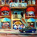Avenue Du Parc Cafes by Carole Spandau