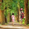 Avenue Of Trees - Dwp2215317 by Dean Wittle
