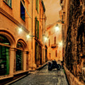 Avignon Alley At Sunset by Kay Brewer