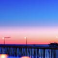 Avila Beach Pier At Sunset by Mountain Dreams