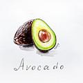 Avocado Lobule by Viktoryia Lavtsevich