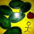 Avocado Man by Solenn Carriou