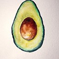 Avocado Paint by Aton Maiti