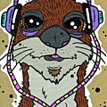 Awesome Otter by Nicole Wilson