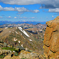 Awesome View From The Mount Massive Summit by Steve Krull