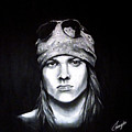 Axl Rose - Welcome To The Jungle by Francesca Agostini