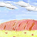 Ayers Rock by Bruce