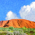 Ayers Rock by Dominic Piperata
