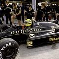 Ayrton Senna. 1986 German Grand Prix by Oleg Konin