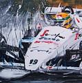 Ayrton Senna Toleman 1984 by Roberto Muccilo