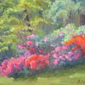 Azalea Garden by Bunny Oliver