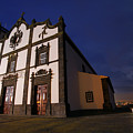 Azorean Church At Night by Gaspar Avila