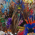 Aztec Feather Dancers - Mexico by Craig Lovell