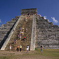 Aztec Pyramid Near Mexico City by Carl Purcell