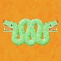 Aztec Serpent by Pierre Blanchard