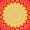 Aztec Sunburst by Roxy Riou