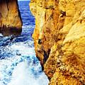 Azure Window Gozo  Malta by Thomas R Fletcher