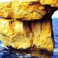 Azure Window Island Of Gozo by Thomas R Fletcher