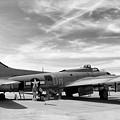 B-17  Black  by Chuck Kuhn