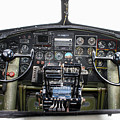 B-17 Cockpit by Tommy Anderson
