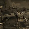 B - 17 Field Maintenance  by Mike McGlothlen
