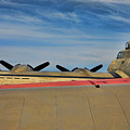 B-17 Flying Fortress by Chuck Kuhn