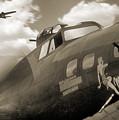 B - 17 Memphis Belle by Mike McGlothlen