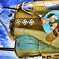 B-17 Paint  by Chuck Kuhn