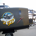 B-24 Nose Art by Tommy Anderson