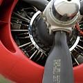 B-24 Prop Detail by Bear E Smith