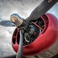 B-24j Liberator Engine II by Kristia Adams