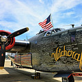 B-24j Witchcraft Wwii by Chuck Kuhn