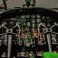 B-25 Mitchell Cockpit by Tommy Anderson