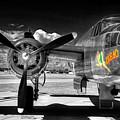 B-25 Mitchell Infrared by Robert Storost