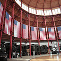 B And O Museum Roundhouse In Baltimore Maryland by William Kuta