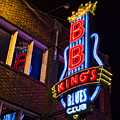 B B Kings On Beale Street by Stephen Stookey
