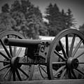 B W Canon Gettysburg by Mario Prata