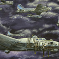 B17 Bomber by Karen Peterson