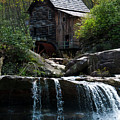 Babcock Grist Mill by Ginnie Lerch