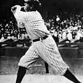 Babe Ruth 1895-1948 At Bat, Ca. 1920s by Everett