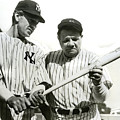 Babe Ruth And Lou Gehrig by Jon Neidert