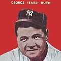 Babe Ruth by Paul Van Scott