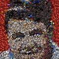 Babr Ruth Puzzle Piece Mosaic by Paul Van Scott