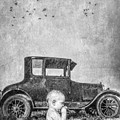 Baby And Model T by Garry Gay